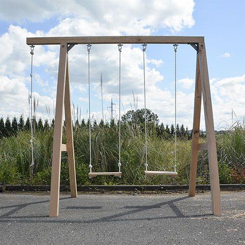 M s de 25 ideas incre bles sobre columpios de madera en for Columpio madera jardin