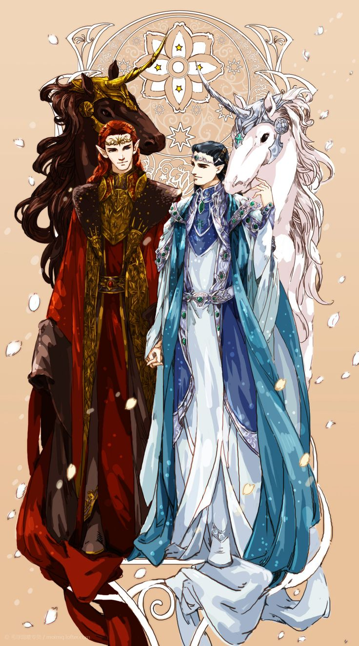 Maedhros and Fingon