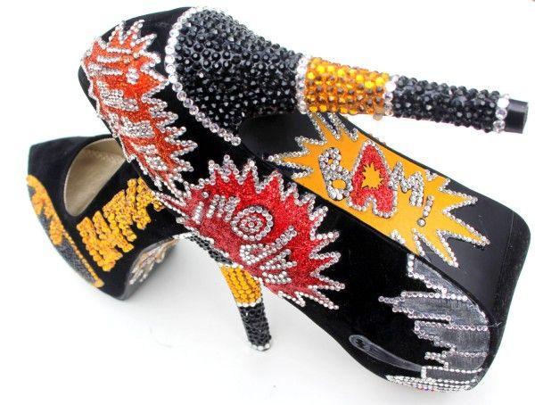 amazing! batman heels