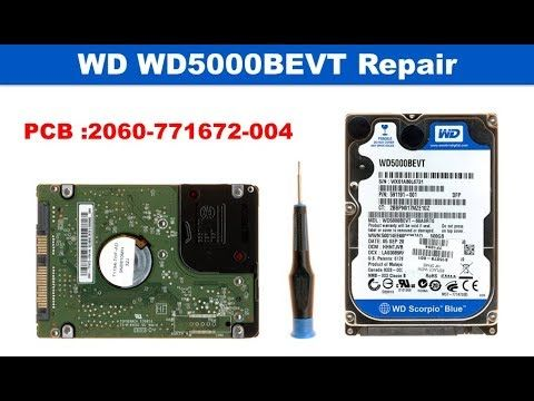 WD repair data recovery 2060 771672 004   WD1200BEVT, WD1600BEVT, WD1600...