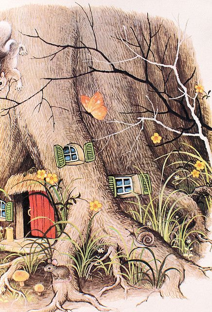 gnomes house