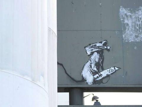 Paris: Banksy, Invader, Monsieur Chat … The puzzle of street art flights   – Célébrités – Street Art And More – Banksy