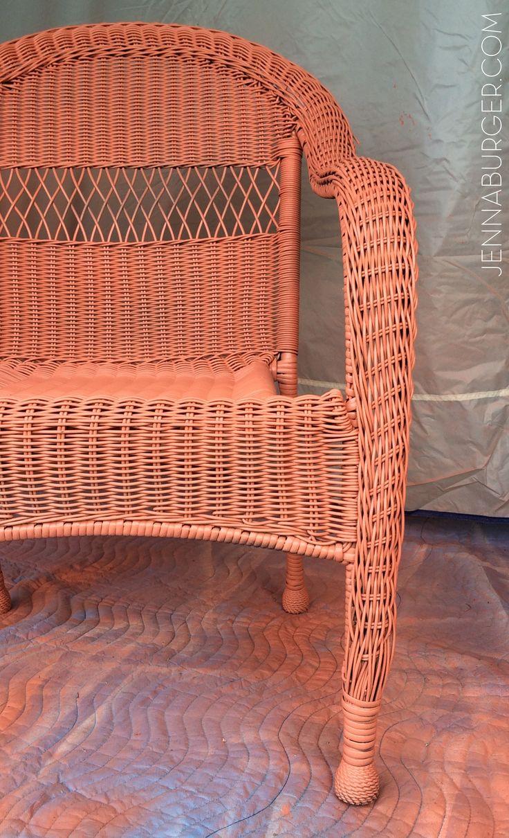 Meer dan 1000 ideeën over geschilderde rieten meubels op pinterest ...
