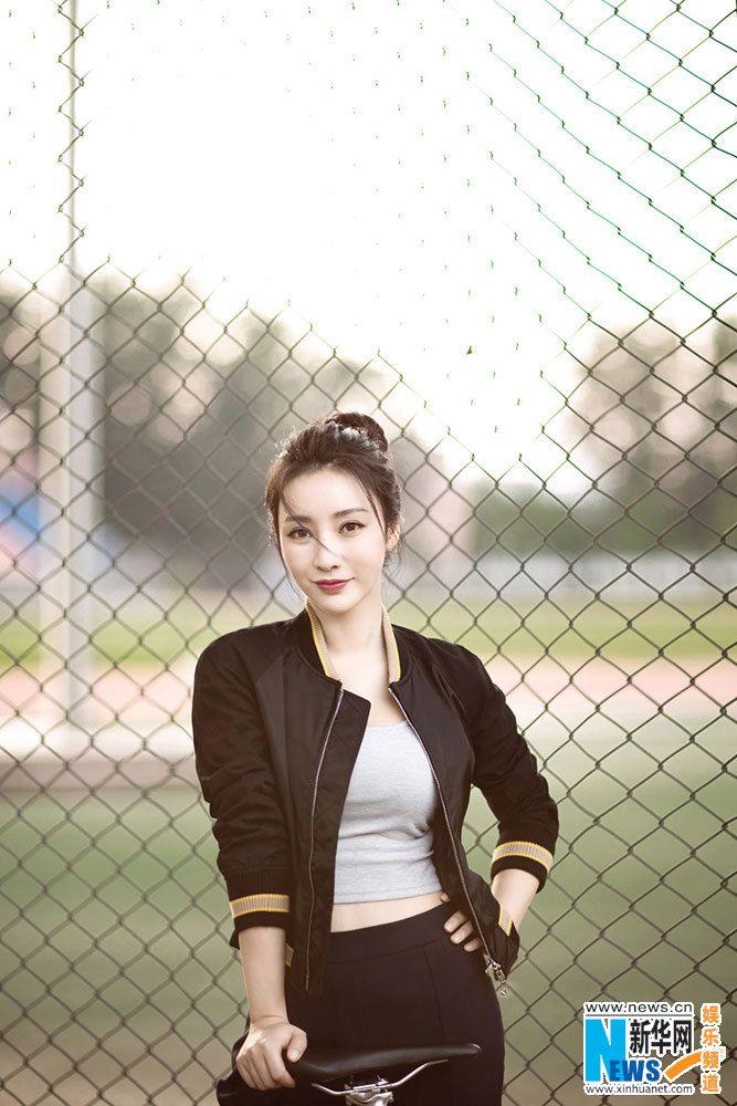 Liu Yan poses for photo shoot   China Entertainment News
