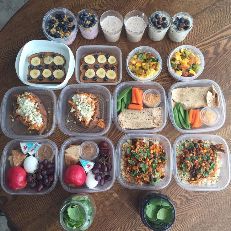 Meal Prep Monday: 5 breakfasts and 5 lunches for two people