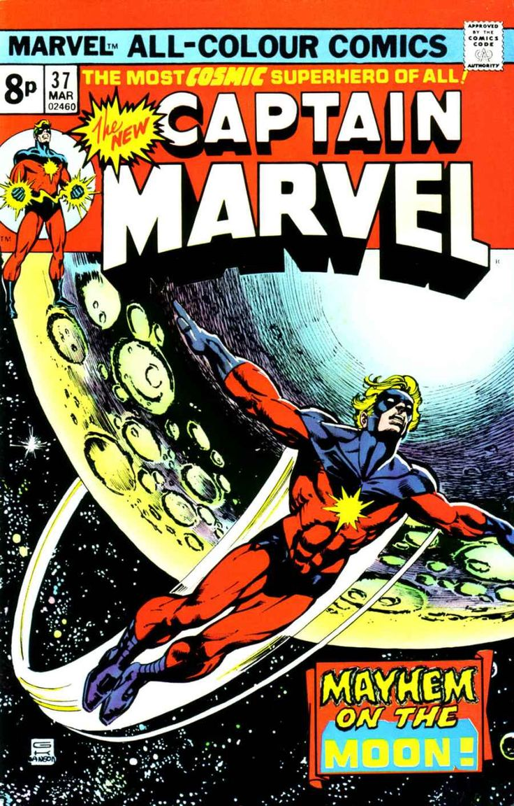 Captain Marvel (1968) Issue #37 - Read Captain Marvel (1968) Issue #37 comic online in high quality