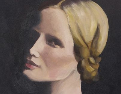 """Check out new work on my @Behance portfolio: """"Oil Portrait on canvas"""" http://on.be.net/1IuwJAt"""