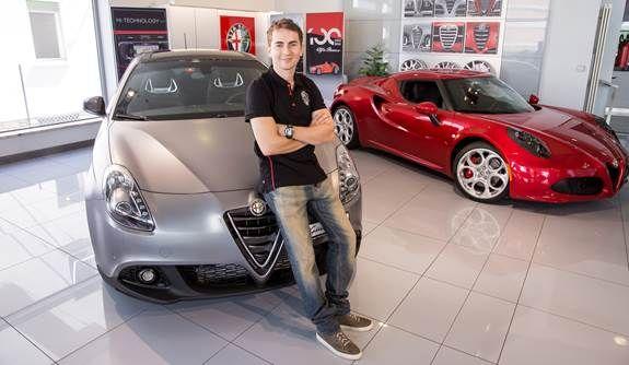 Jorge Lorenzo und Alfa Romeo - ein starkes Team auch ausserhalb der Rennstrecken