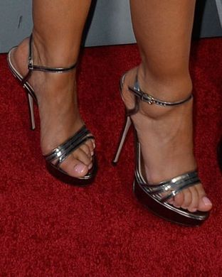 Leah remini feet properties