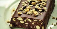 Κορμός σοκολάτας με χαλβά, φουντούκια και σταφίδες, νηστίσιμος - Newsweek.gr