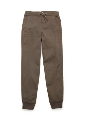 Red Camel  Pieced Woven Jogger Pants Boys 8-20