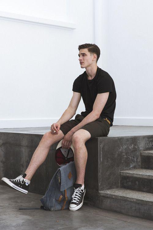 Bermuda curta masculina, estilo e conforto
