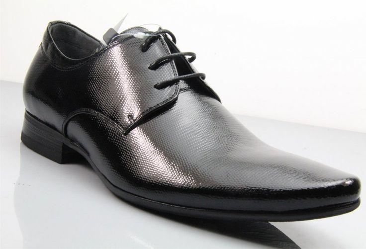 Fane Executive Patent Black Leather Shoes. #institchu #leathershoes #menswear #mensstyle