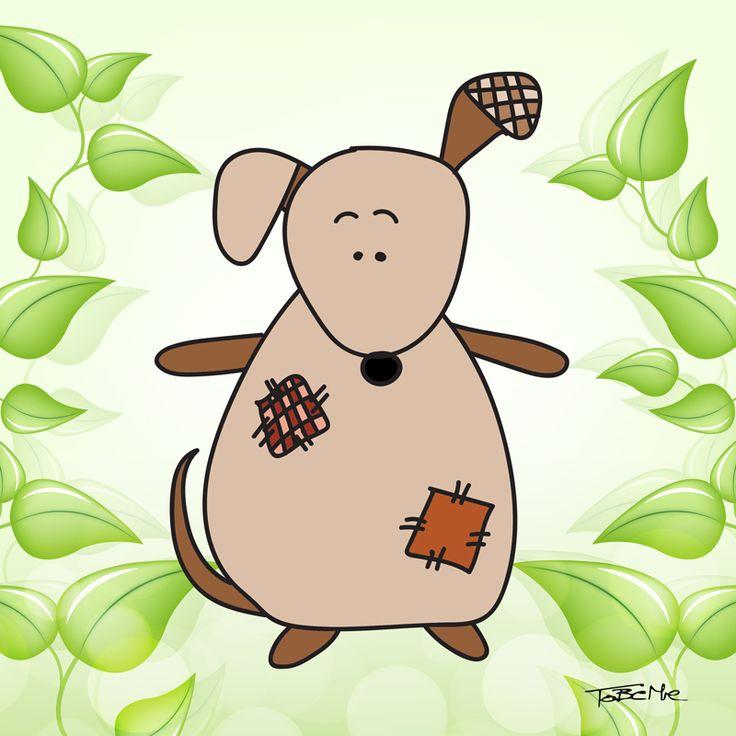 Antoni the friendly toy dog :)