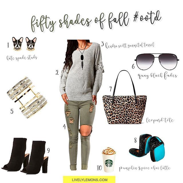 New fall blog post is finally live! 🖤☠️💚Go go go check it out! ✨👻🎃 Link in bio 👆  •  •  •  •  •  #fashionblogger #ootd #fallstyle #falltrends #fiftyshadesoffall #fallfashion #livelylemons #beautyblog #urbanog #katespade #tieks #charlotterusse #onlineboutique #quayhighkey #quayfades #quay #booties #fallbooties #psl #everydaylook #chai #fashionnova #fashionnovajeans #leopard #tote #instablogger #bloggerstyle #influencer #fallstyle #liketoknowit #design