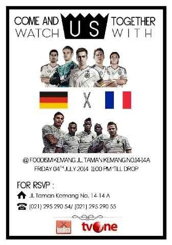 Nobar Germany vs France