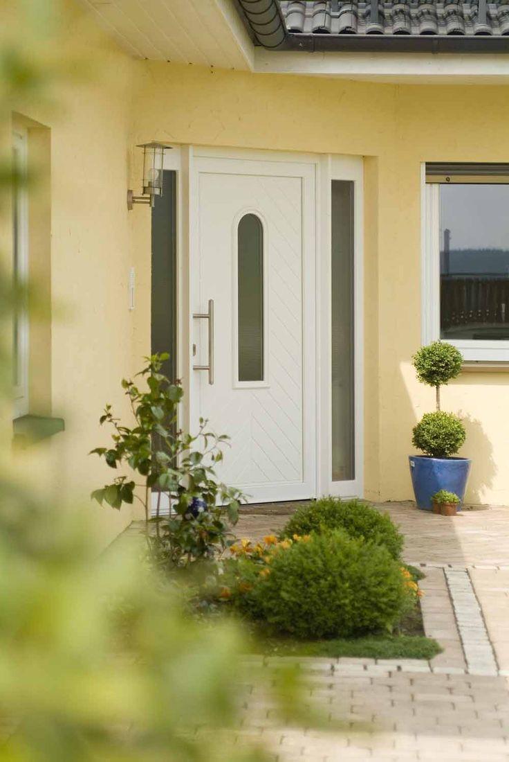 Winkelbungalow Vielbrunn Eingangstür