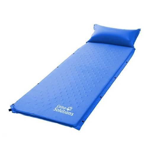 Inflatable Sleeping Pad Camping Hiking Mat Pillow Foldable Portable Lightweight #InflatableSleepingPad