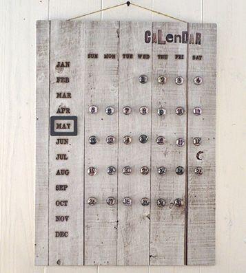 Календарь 'Tools Tin' купить в интернет магазине подарков Pichshop: приятные цены, бережная доставка по Москве и России