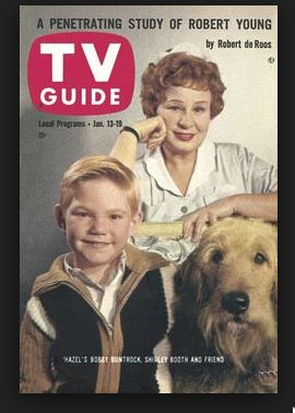 TV Guide 1962 Hazel TV Comedy Show (cover) Harold, Hazel and Smiley the Airedale Mix https://www.youtube.com/watch?v=b0HNUAunNFo&list=PLA2-u6ofVDMPeOmS3HfQS-QKFPDkKi91-