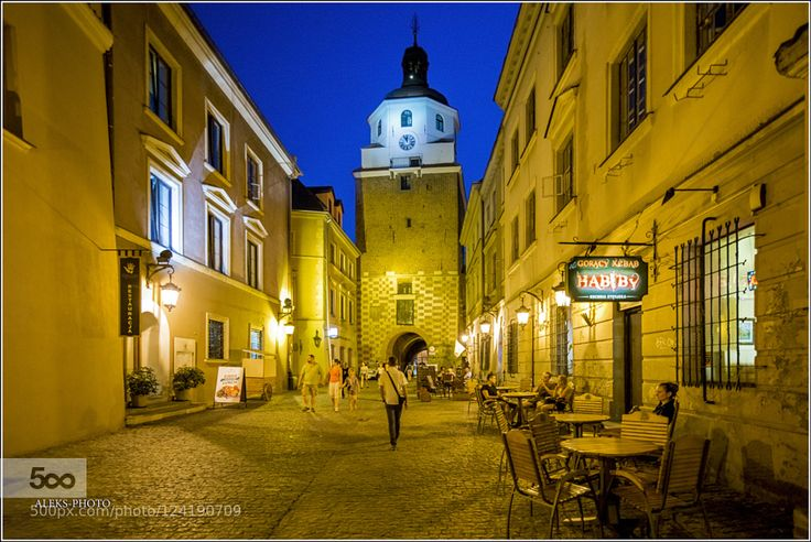 Night in Lublin (Poland) by AlexanderTomilin. Please Like http://fb.me/go4photos and Follow @go4fotos Thank You. :-)