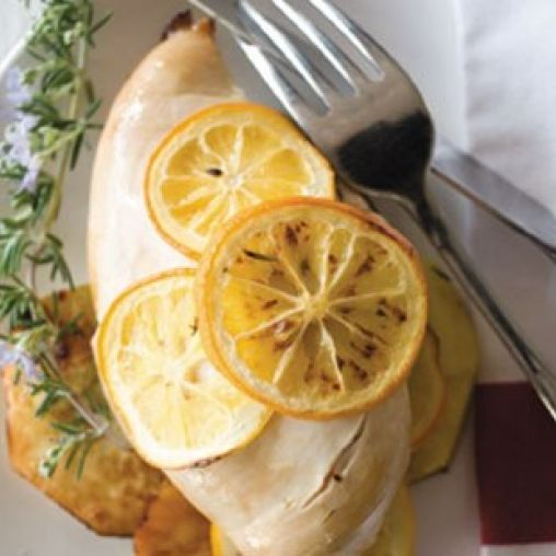 Baked chicken with lemon and kumara | Healthy Food Guide
