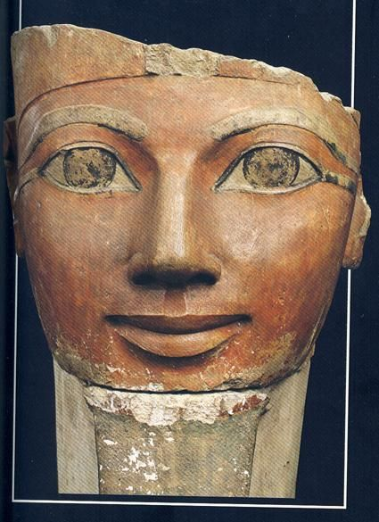 Hatshepsut (Hatshepsowe), one of the rare women pharaohs of Egypt, had a long and successful reign marked by remarkable building projects and lucrative trading expeditions. She campaigned in Nubia (perhaps not in person), sent a fleet of ships to the land of Punt, and had an impressive temple and mortuary complex built in the Valley of the Kings Karima and i went to her shrine.