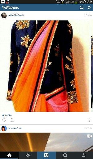 Saree blouse long sleeves