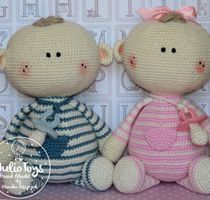 "Little Teddy Bear – crochet pattern  For the second anniversary of the ""Julio Toys"" for all my fans, I put this pattern for free. My web si..."