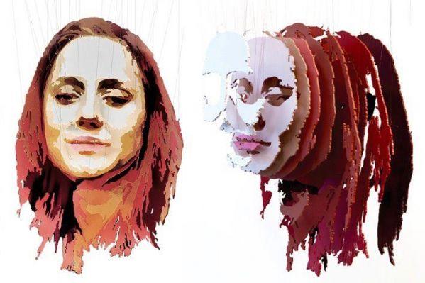 3D portrait sculptures by Michael Murphy