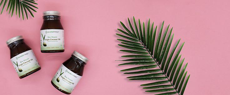 #coconutoilflatlay #flatlay #coconut #palmtree #style #design #sproutmarket #benefitsofcoconutoil #healthyliving #yogi