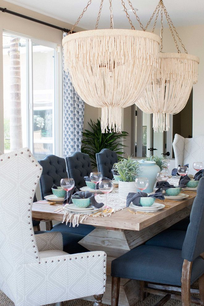 Dining room lighting. Dining room lighting. Made Goods Carmen Chandelier. Coco…