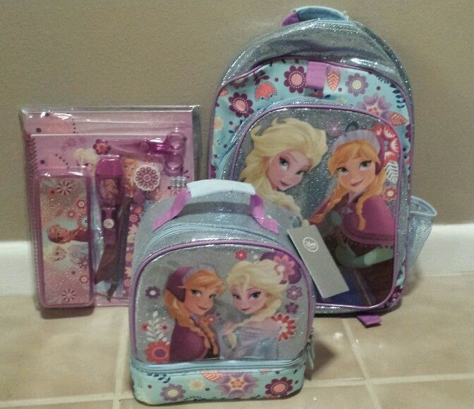 Disney Store Frozen Backpack Lunchbox Supply Kit Anna Interiors Inside Ideas Interiors design about Everything [magnanprojects.com]