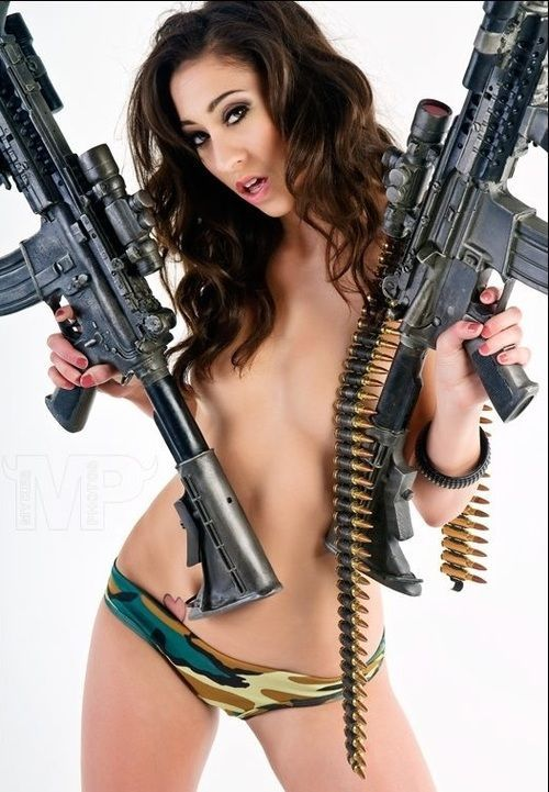 Pictures Of Naked Women With Handguns 82