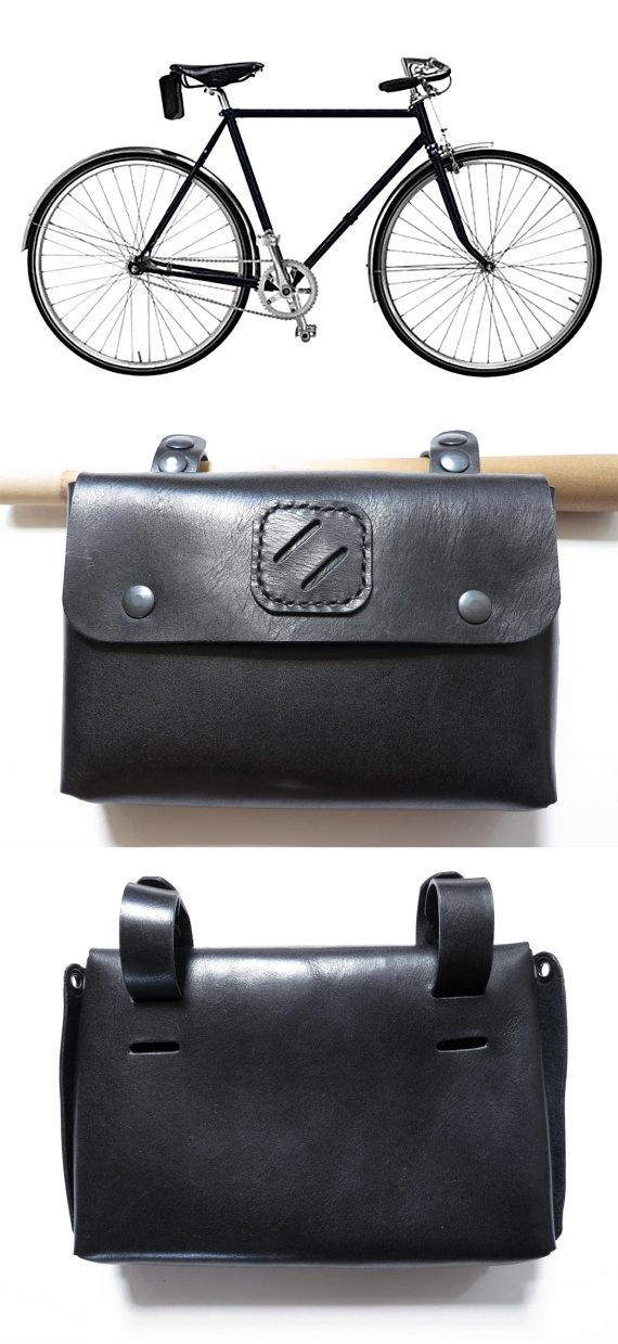 Leather Bicycle bag/ Shoulder Bag