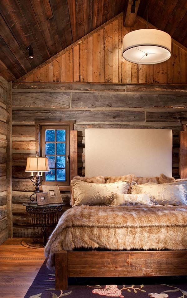 59 Incredibly Simple Rustic Décor Ideas That Can Make Your: Top 25 Ideas About Cabin Bedrooms On Pinterest