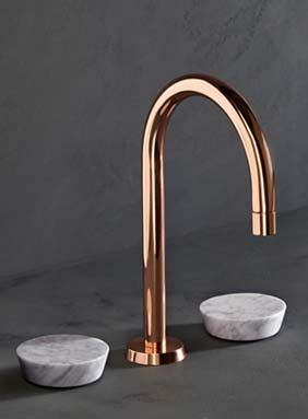 copper bathroom fixtures. Get Started On Liberating Your Interior Design At Decoraid In City! NY | SF. Copper FaucetCopper BathroomMarble Bathroom Fixtures H