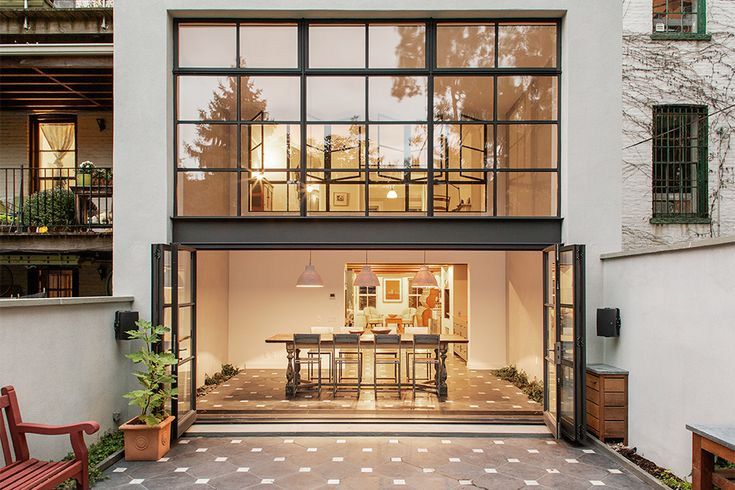 Just a few steps from being condemned, the Cumberland Street Townhouse by Ensemble Architecture is a great example of a rehab gone right. As a result of water leakage, the entire rear wall of the house was replaced, and a...