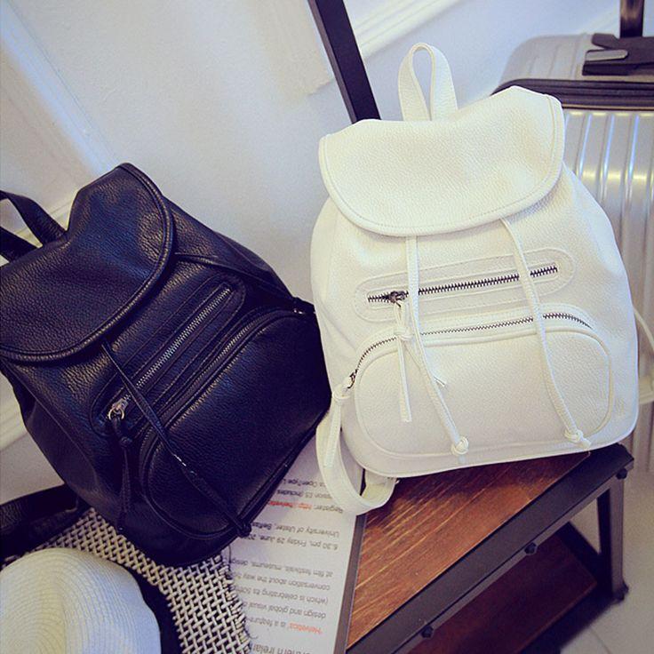 2017 Famous Brand Women Packback Bags Girl Leather School Bag Backpack Travel Satchel Rucksack Female Bag Mochila Feminina