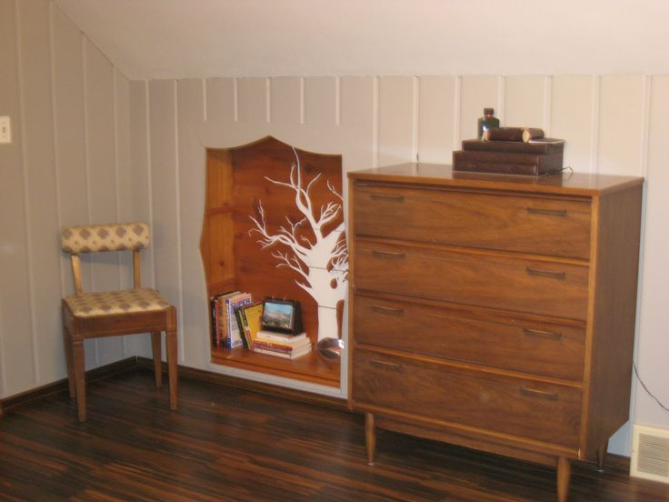 painting over knotty pine paneling