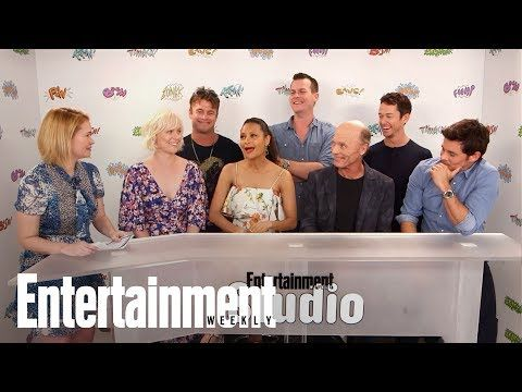 EW: 'Westworld' Cast Dish On Working On Set, How Much They Understand | SDCC 2017 | Entertainment Weekly