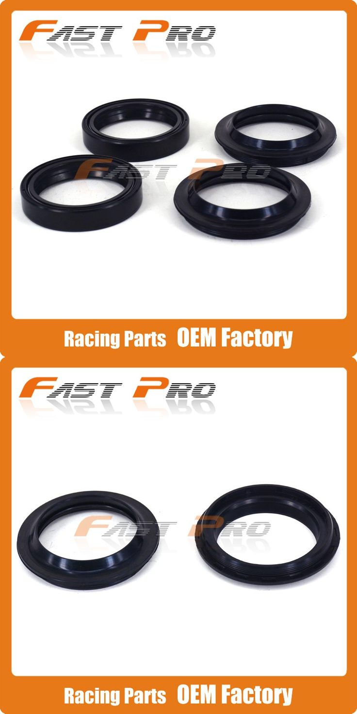 [Visit to Buy] 48MM Front WP Shock Absorber Fork Dust Oil Seal For KTM EXC 125 200 250 300 380 400 450 500 520 525 530 EXC-G 250 400 #Advertisement