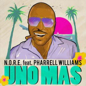 N.O.R.E  Uno Más Feat. Pharrell Williams [New Song]