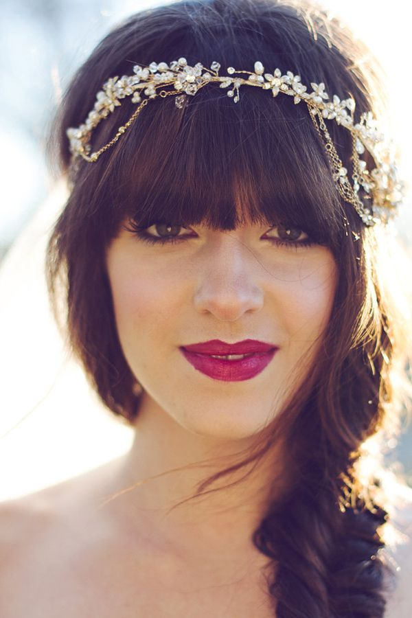 Brilliant Bride Bohemian Luxe Winter Wedding