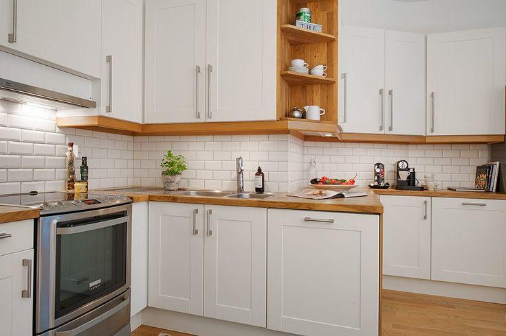 amenajari, interioare, decoratiuni, decor, design interior - küche aus porenbeton
