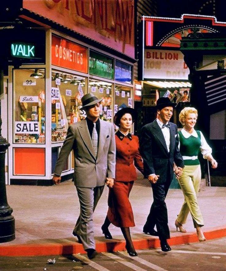 Guys and Dolls (1955) Marlon Brando, Jean Simmons, Frank Sinatra and Vivien Blaine