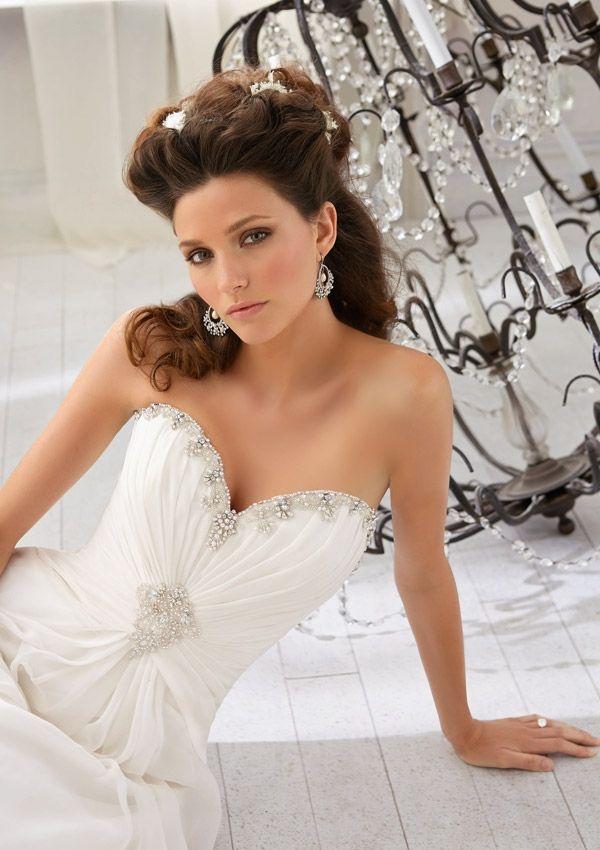 Mejores 9 imágenes de Vestidos novia Mori Lee en Pinterest ...