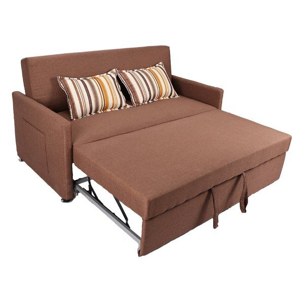 Corvallis 65 Square Arm Sofa Bed Pull Out Sleeper Sofa