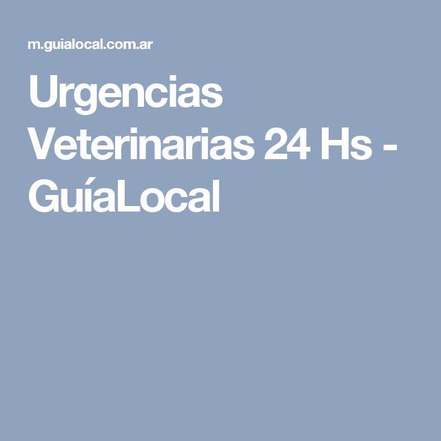 Urgencias Veterinarias 24 Hs - GuíaLocal