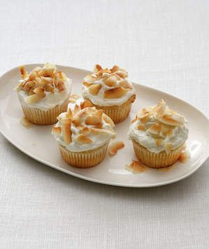 Coconut Cupcakes | This versatile ingredient can star in dishes both savory and sweet. These recipes showcase its many forms: flakes, water, and milk.